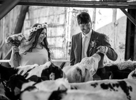 Malvern Spring Wedding with Churchfields Farm Reception