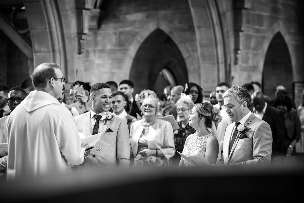 An autumn wedding at Mythe Barn
