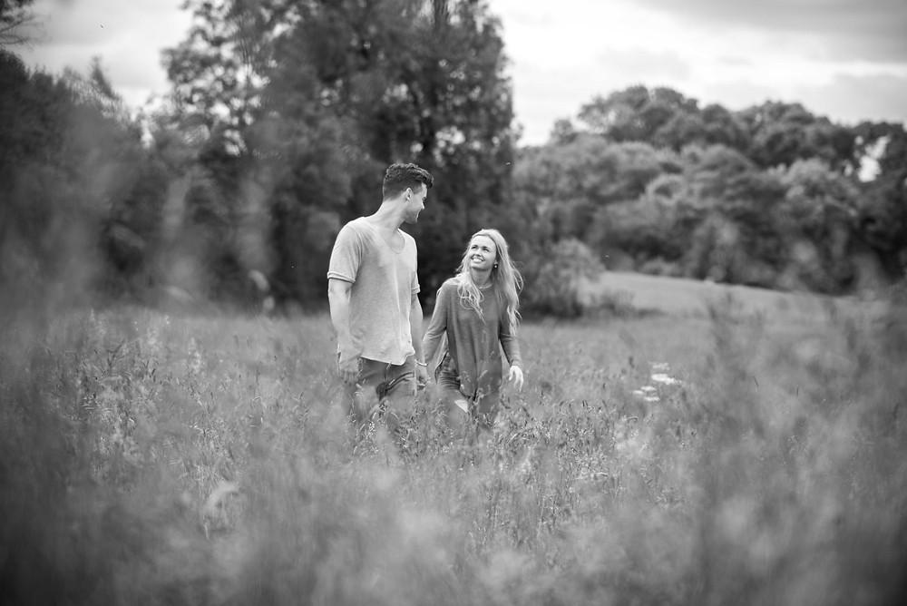 Black & White wedding photography Shropshire