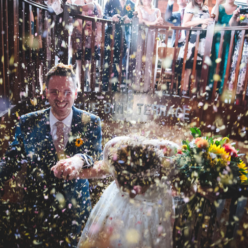 Birmingham Library Wedding Photography | Sophie & Dan