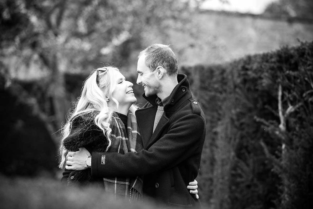 Relaxed Engagement photography in Worcestershire