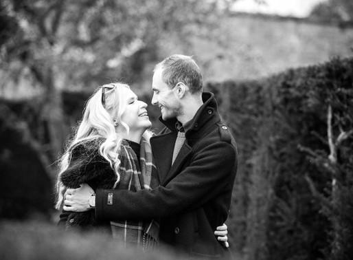 Phillipa & Daniel | Engagement Photoshoot at Whitbourne Hall