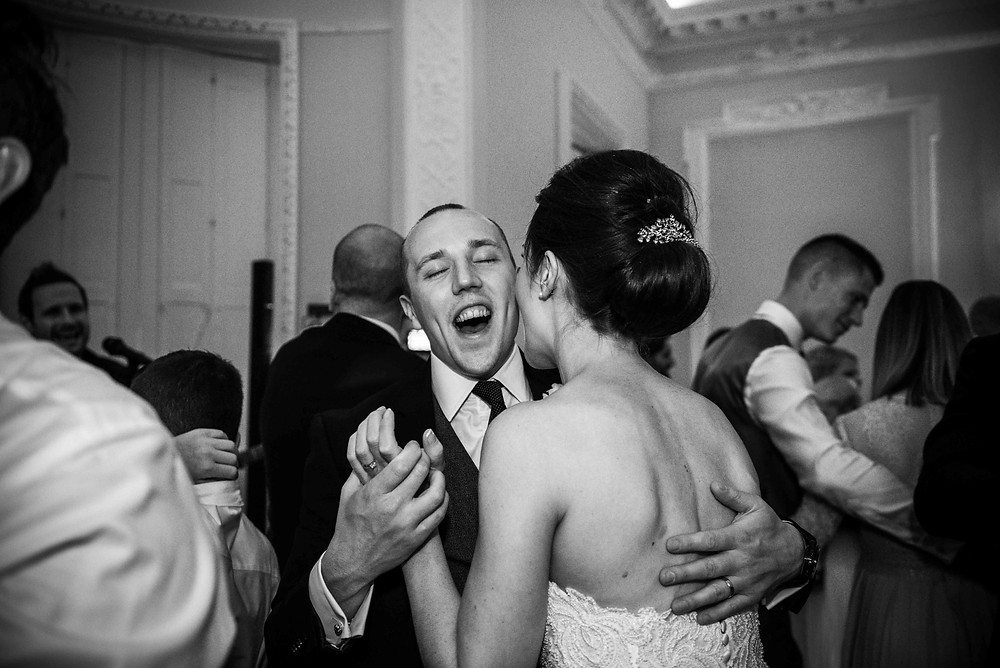 first dance at Somerford Hall wedding