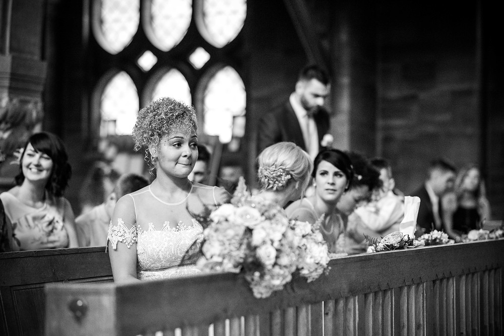 Wedding at St Micheal & All Angels in Tettenhall, Wolverhampton