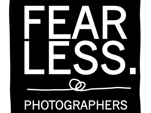 Afraid to be Fearless - It's scary being a wedding photographer