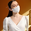 Thumbnail: Linen Cotton Mask, Contoured Face Mask
