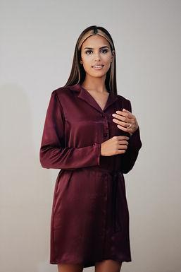 Pajama Nightdress. Shirt Dress