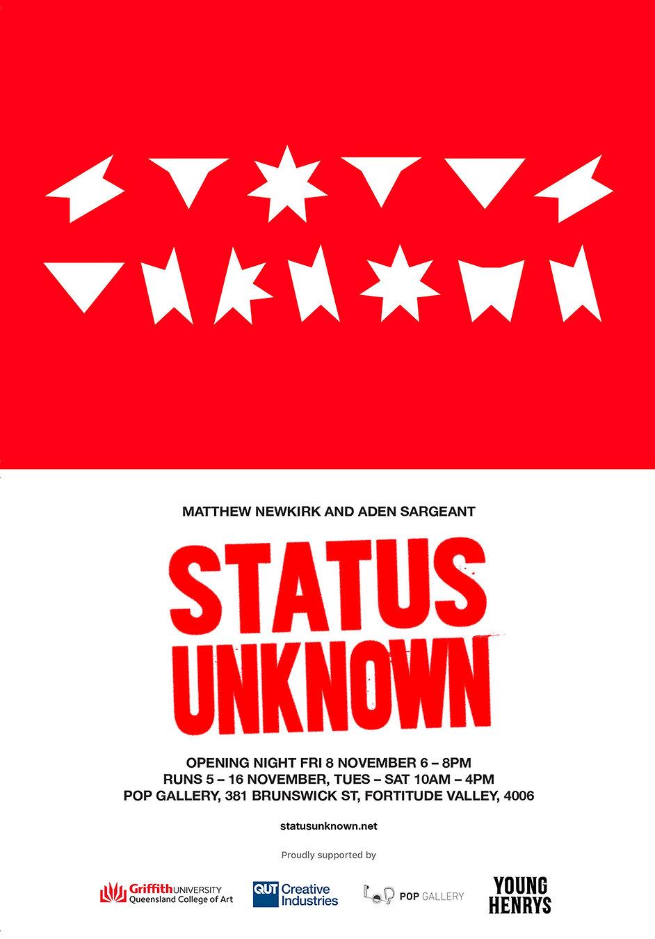Matthew Newkirk - STATUS UNKNOWN Invite.