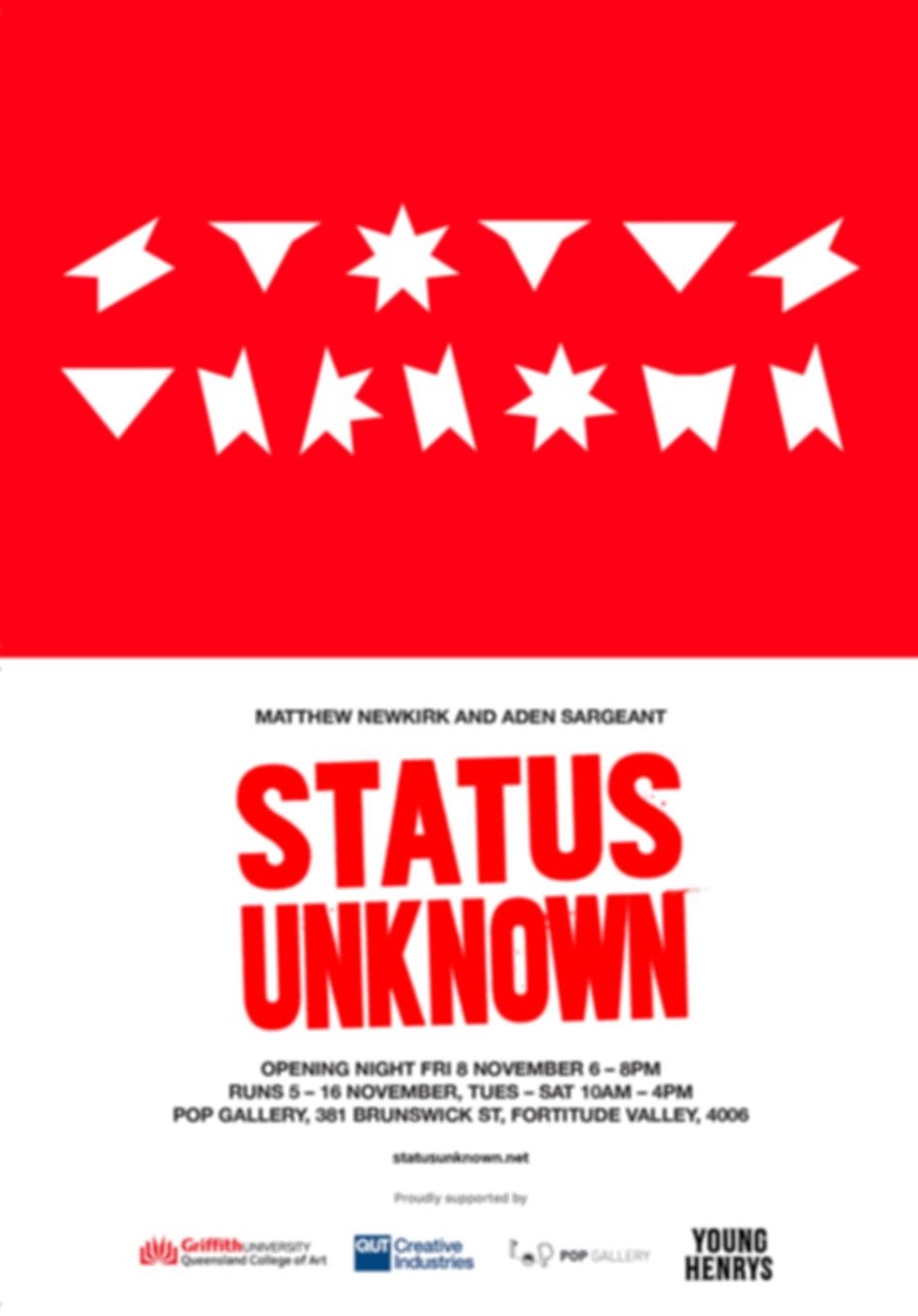 Matthew Newkirk - STATUS UNKNOWN Invite.
