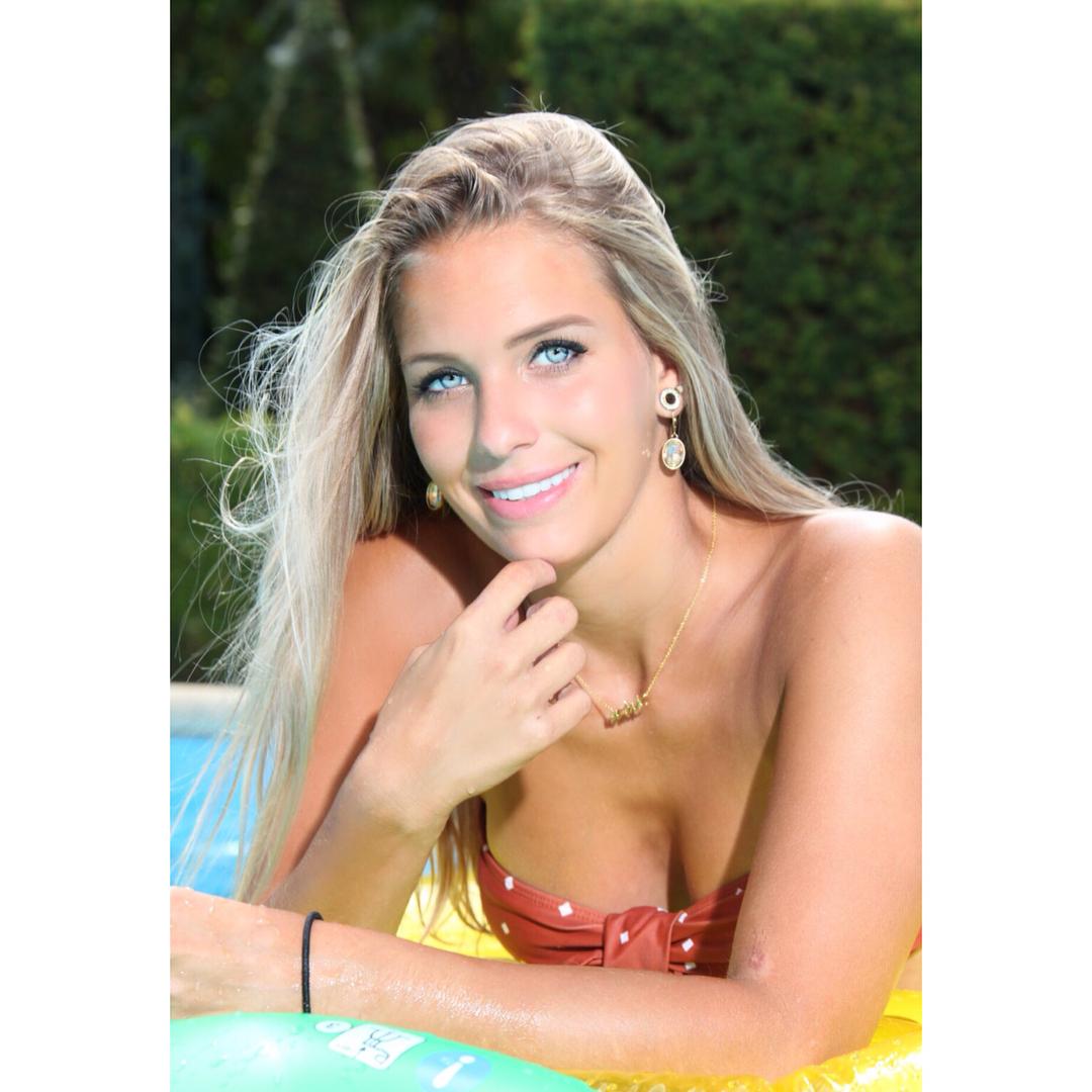 lizswerts, club versuz, versuz, bikini, model, blue eyes, blonde hair