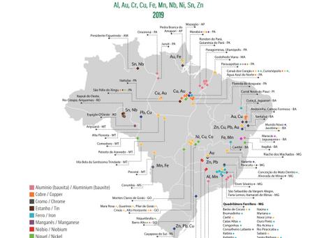 Produtos Minerais do Brasil