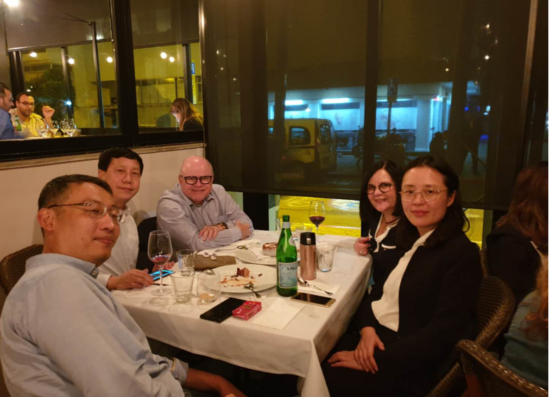 April 2019 - Dinner with SCC Chairman & K.O.S.