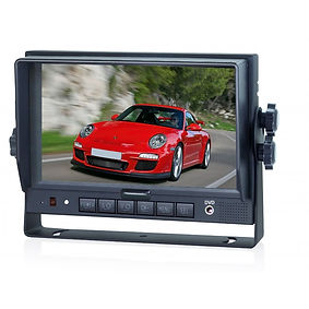 """7"""" SINGLE VIEW VEHICLE MONITOR 4 CH 7EHD"""