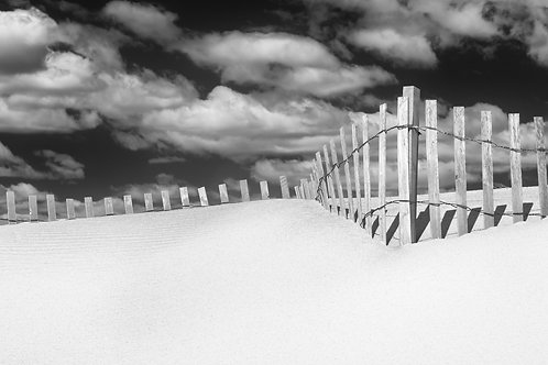 Location Shooting-Dune Fences at Sunken Meadow