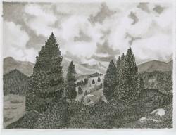ink landscape project