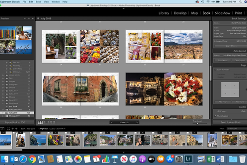 Creating Photo Books in Lightroom