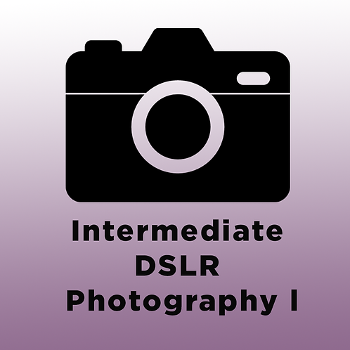 Intermediate DSLR Photography l