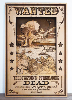 Eradication of last pure Americans