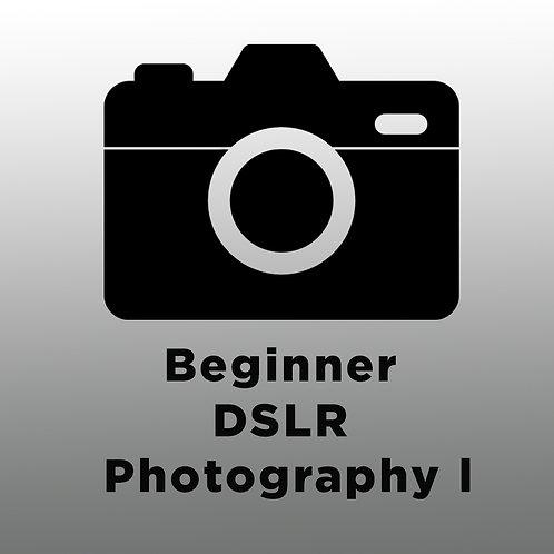 Beginner DSLR Photography l