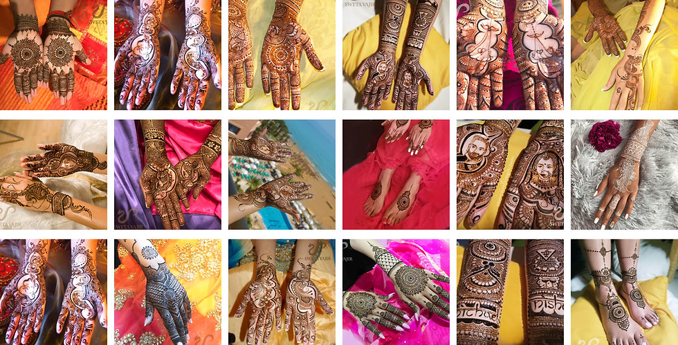 Online Henna course 4