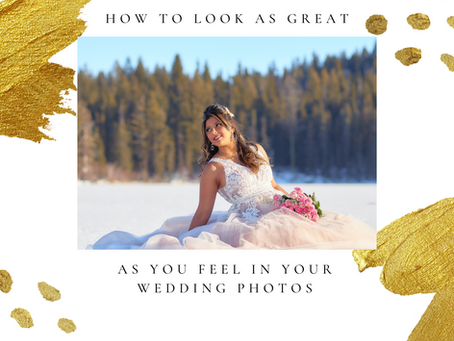How to look amazing in your wedding photos
