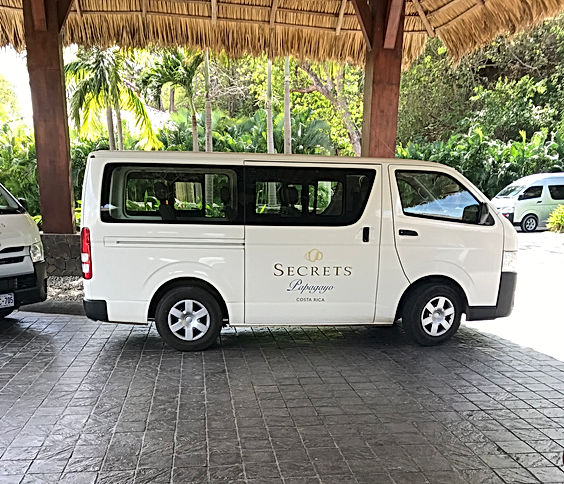 Secrets Papagayo Shuttle