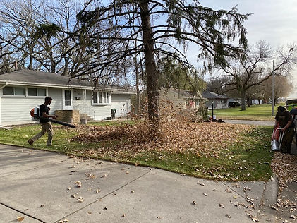Fall Cleanup, Fridley, MN