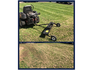 Fridley dethatching and aeration