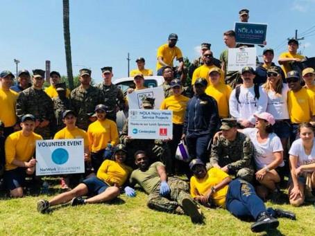 NOLA Navy Week Makes Big Impact in the Big Easy with NetWork Volunteers