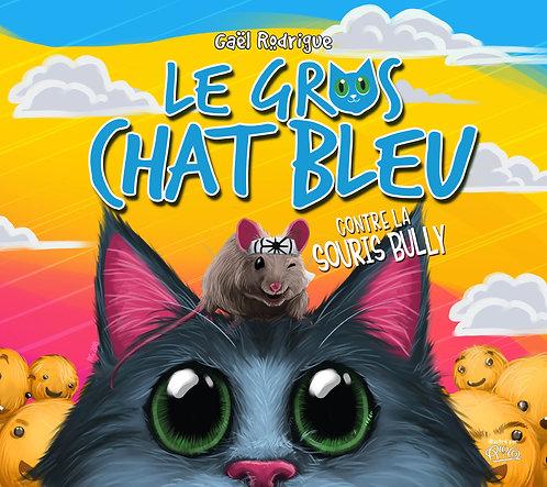 Gros chat Bleu - contre la souris Bully_abîmé