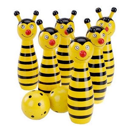 mini boliche abelha ou sapo