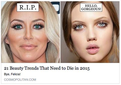 Cosmopolitan Magazine Editorial