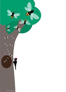 Honey Bee Wild