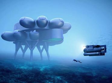 В океане может появиться подвоный дом