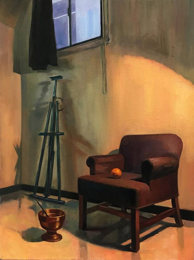 The art classroom (still life)