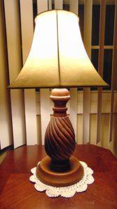 Washable Shade Lamp