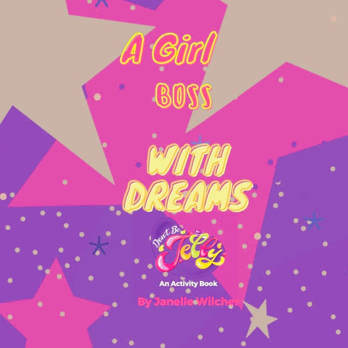 A Girl Boss With Dreams-Activity Book