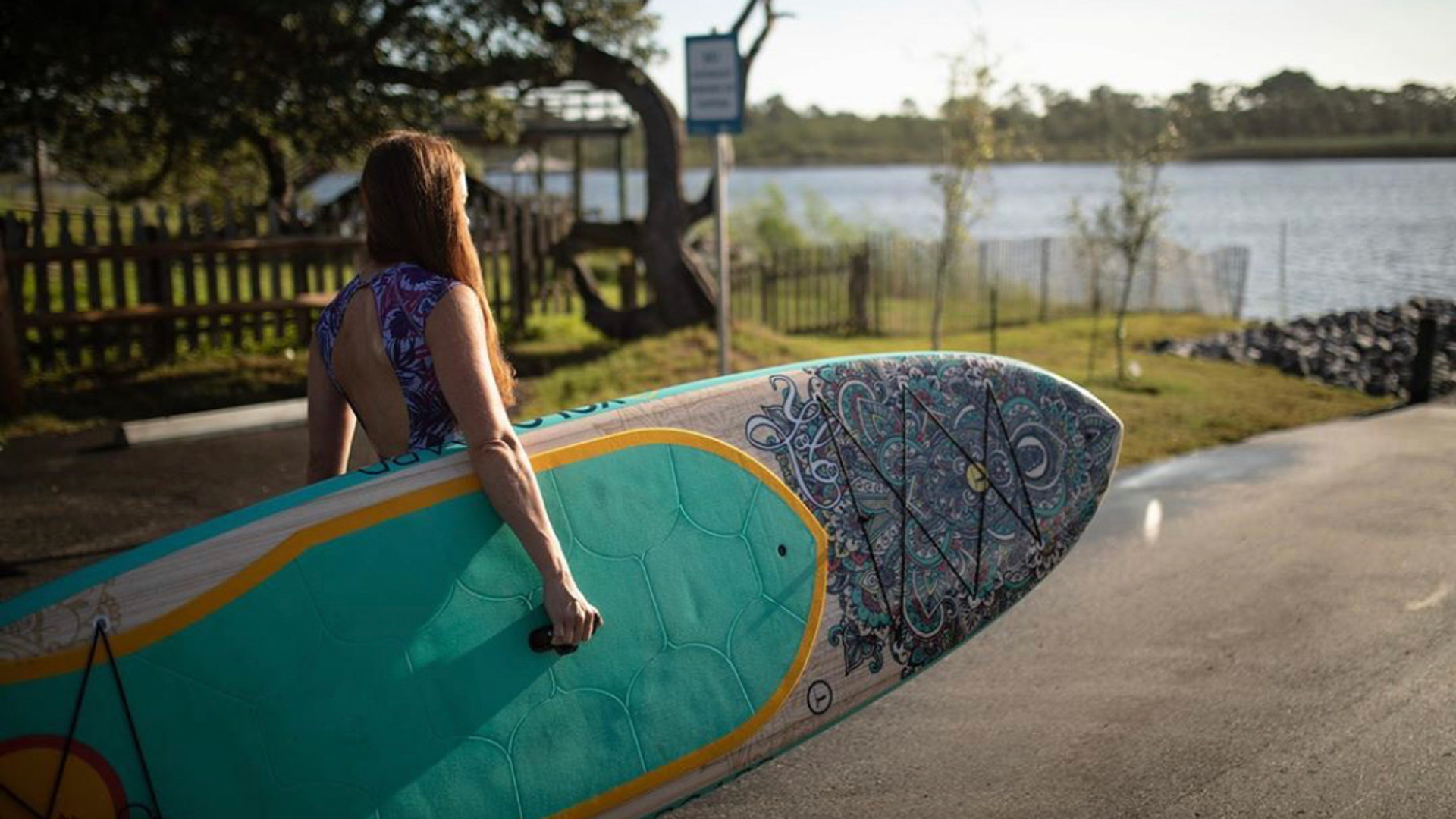 YOLO Board: The Therapeutic Side of SUP