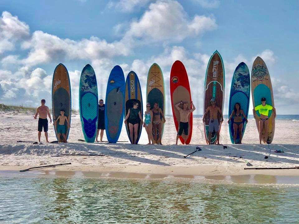 August 20th Gulf Therapy Paddle