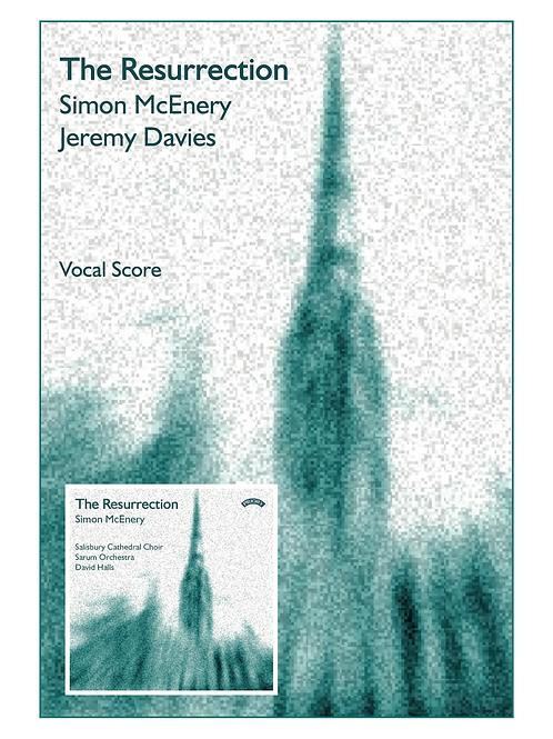 The Resurrection (Vocal score)