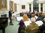 Rehearsing in Salisbury Cathedral School © Ash Mills