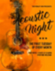 Copy of Acoustic Night Flyer - Made with
