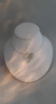 Zilveren hanger YDesign