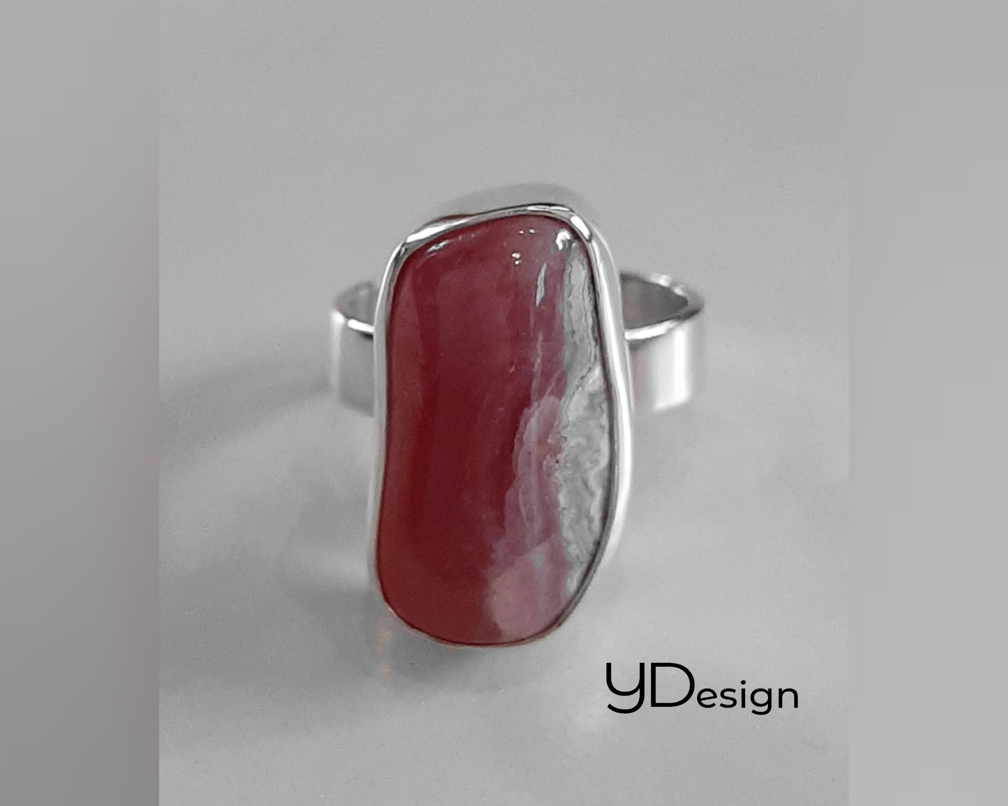 Zilveren as-ring