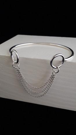 Zilveren armband, ondereel van set