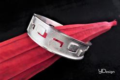 Zilveren robuuste armband