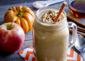 2 Holiday Gut Healthy Smoothie Recipes That Taste Just Like Dessert