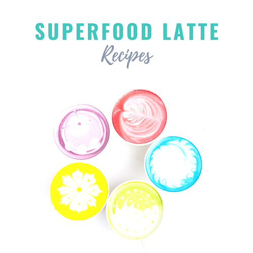 10 Superfood Latte Recipes