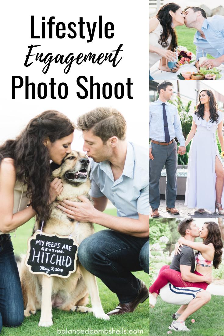 lifestyle engagement photo shoot