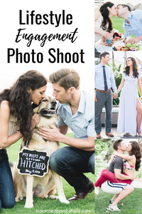 lifestyle engagement photo shoot